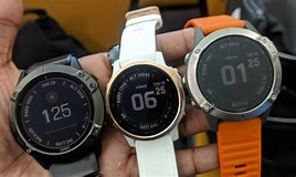 Image result for fenix 6 vs 6s. Size: 268 x 160. Source: www.wareable.com