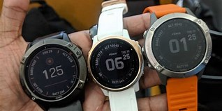 Image result for fenix 6 vs 6s. Size: 318 x 160. Source: www.wareable.com
