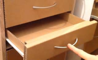 How To Be A Drawer how to make a cardboard drawer corrugated cardboard furniture
