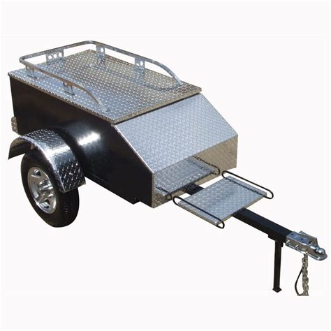 Trailer Hitch Motorcycle Rack by Carrier Motorcycle Trailer With Hitch For Tow Cargo