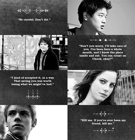 the last runner books 17 best maze runner quotes on maze runner