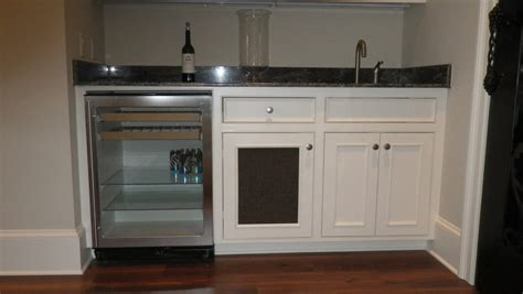 Cabinet Llc Wet Bar Wine Rack