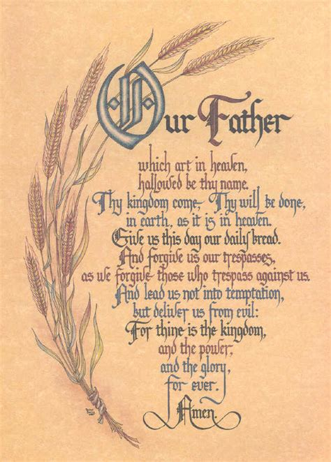The Lord Prayer lord s prayer