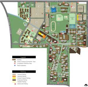 Cal State Long Beach Campus Map by Explore California State University Long Beach
