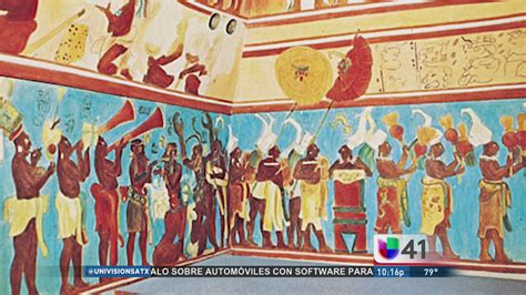 imagenes de murales mayas secretos escondidos el tesoro de los murales de bonak