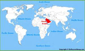 mecca world map saudi arabian location on the world map