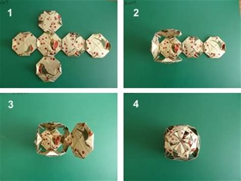 Origami Sequence - origami ornaments to make with photo