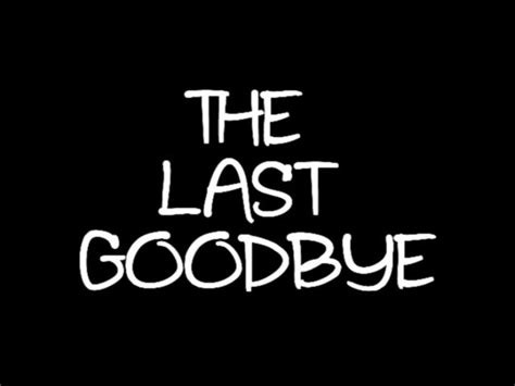 Not The Last Goodbye operation inspiration the last goodbye invisible world