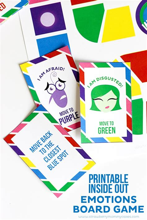free printable emotions board game free printable image gallery inside out emotions game