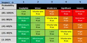 risk matrix assignment point