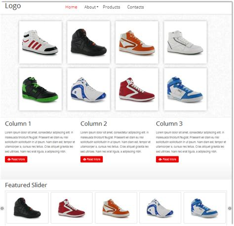 html catalog template html5 product catalog template templates dmxzone
