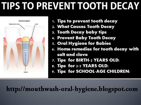 how to stop teeth the advanced guide to prevent tooth decay 9 topics