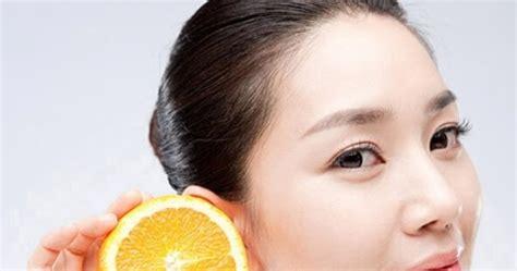 menghilangkan bekas jerawat  jeruk nipis