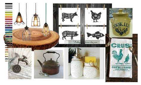 Country Kitchen Accessories by Accessorizing Your Kitchen With Etsy Fabrictherapy