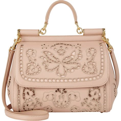 G Bag dolce gabbana cutwork embroidered miss sicily bag in