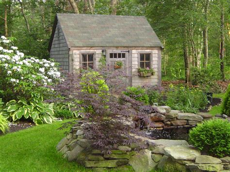 garden sheds theyve  looked  good landscaping
