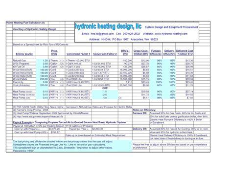 Heat Load Calculation Spreadsheet by Heat Load Calculation Spreadsheet Laobingkaisuo
