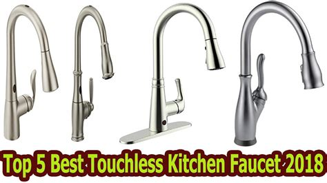 top 5 best touchless kitchen faucet 2018