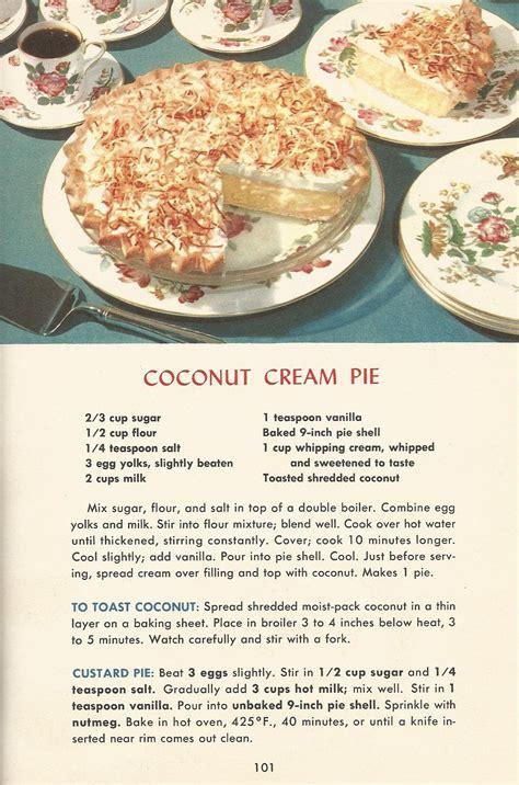 2013 Kitchen Trends vintage recipes 1950s pies 6 antique alter ego