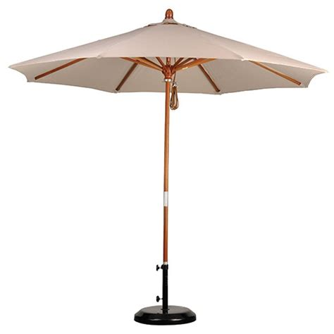 Unique Patio Umbrellas Unique Wood Patio Umbrella 3 9 Foot Market Umbrella
