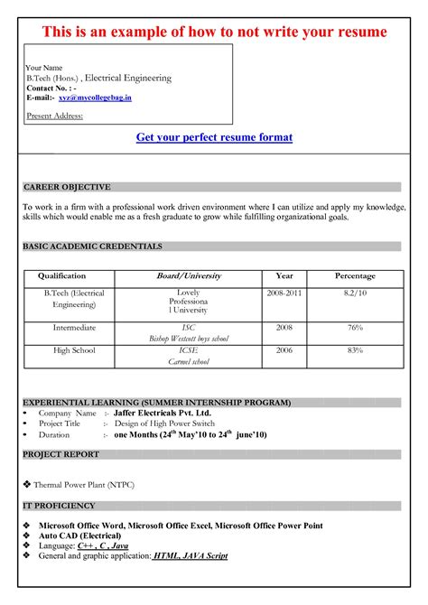 Resume Template Microsoft Word 2007 Sle Resume Cover Letter Format Microsoft Word Resume Template 2007