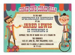 Carnival Themed Invitations Templates Free by Carnival Invitations Gangcraft Net