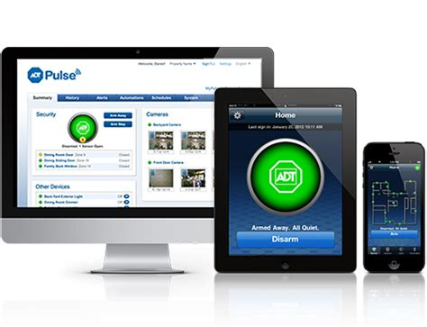 adt pulse home automation by american best security