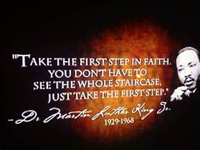 martin luther king quote faith the secret mlk day
