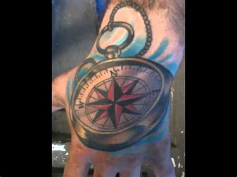 compass hand tattoo reddit hand compass tattoo youtube