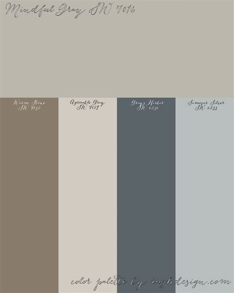 colors that complement gray colors that