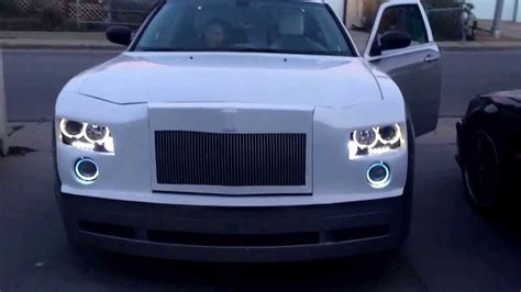 chrysler 300 vs phantom chrysler 300 rolls royce front end