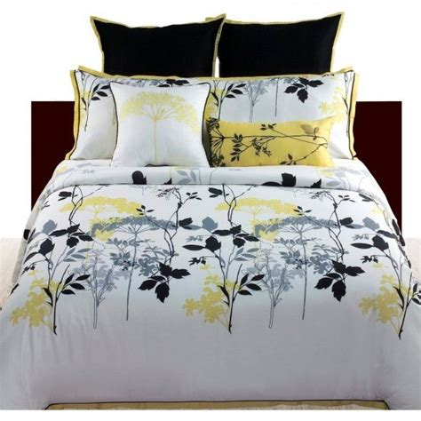 yellow and grey bedding fel7 yellow and grey bedding ideas angelo home gramercy park 4 comforter set cottage