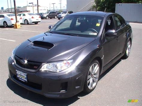grey subaru impreza 2012 dark gray metallic subaru impreza wrx sti 4 door