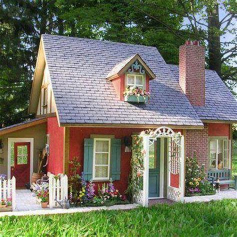 Tiny Cottage by Tiny And Oh So Cute Cottage Cool Ideas Pinterest