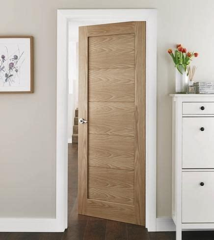Light Oak Interior Doors Single Panelled Modern Door In Light Oak Ideas For The House Pinterest Modern Door Light