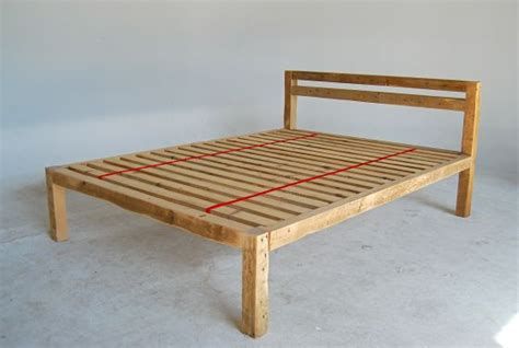 simple homemade wooden headboards easy wooden bed
