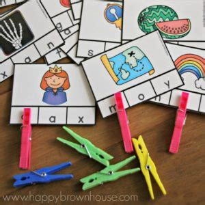 printable alphabet puzzle cards these printable alphabet beginning sounds clip cards are