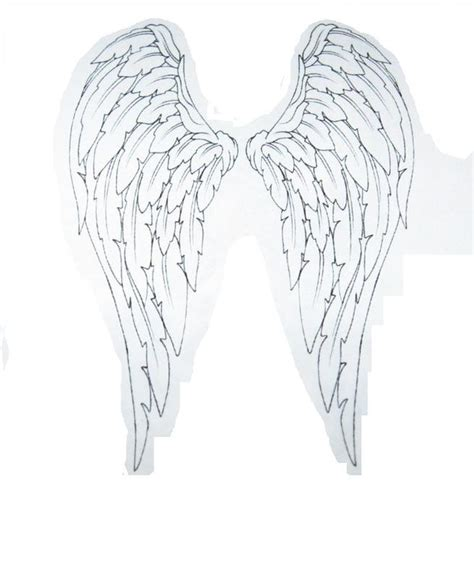 black and white angel wings tattoo designs collection of 25 beautiful white wings
