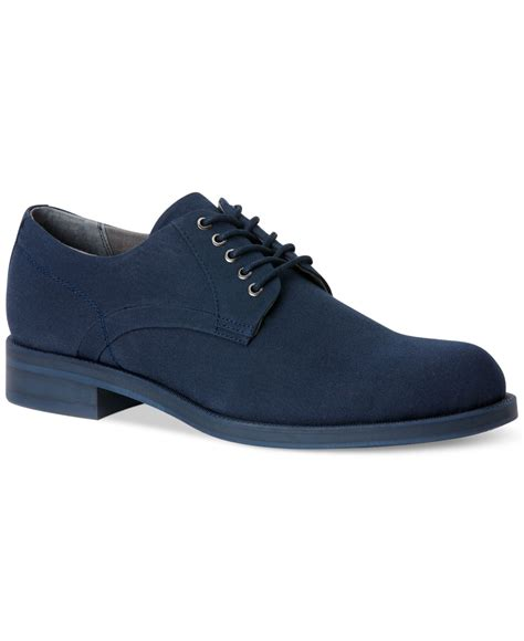 calvin klein shoes lyst calvin klein homer shoes in blue for