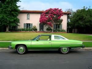 1976 chevrolet caprice 2 door in original quot lime green
