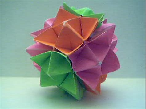 How To Make An Origami Sphere - origami