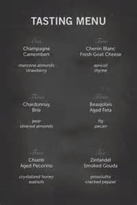 Wine Tasting Menu Template by Wine Tasting Cards And Food Flags