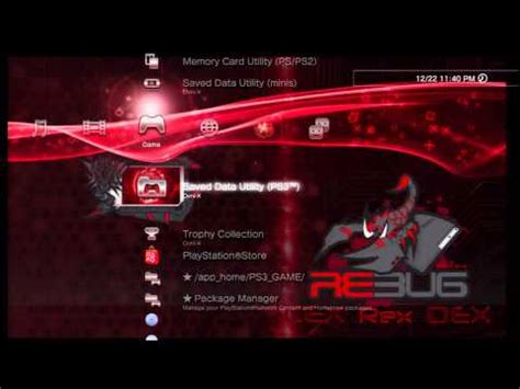 download themes for rex 70 ps3 themes rebug rex theme without jailbreak all themes