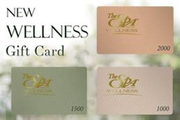 The Spa Wellness Gift Card - the spa wellness products