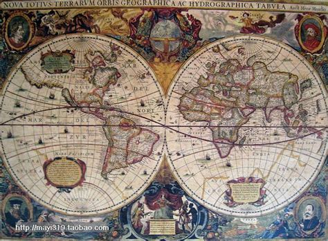 vintage style retro cloth poster globe old world nautical map gifts home decor ebay 58 42cm 2015 european vintage style retro cloth poster