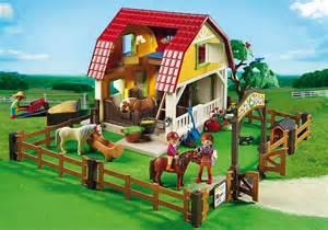 Two Stall Horse Barn Playmobil Children S Pony Farm 5222 Rural King