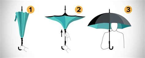 Kazbrella Umbrella Umbrella Payung Terbalik Limited kazbrella opens inside out wants you to bid farewell to floor mikeshouts