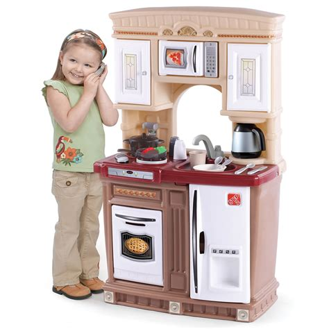 lifestyle fresh accents kitchen play kitchen step2