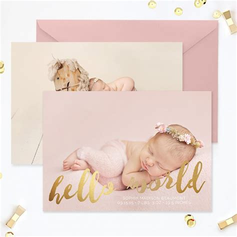 birth announcement cards template free 71 best images about birth announcement templates family