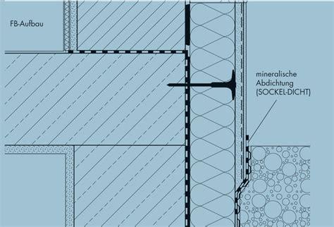 mineralische abdichtung sockel sockeld 228 mmung w 228 rmed 228 mmung fassade rohbau bauen